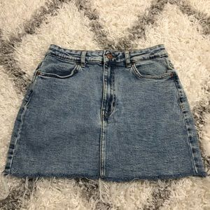 Bershka Denim Skirt